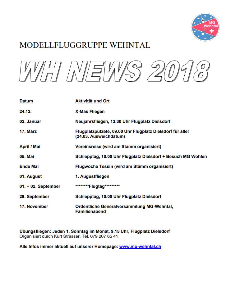 wh news 2018